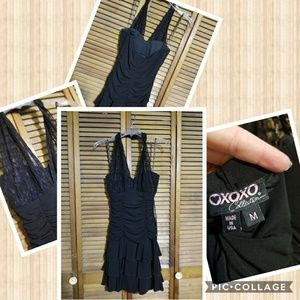 Xoxo Collection Med Halter Dress